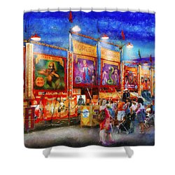 Carnival - World Of Wonders Shower Curtain by Mike Savad