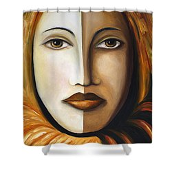 Carnival 4 Shower Curtain by Leah Saulnier The Painting Maniac