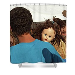 Shower Curtain featuring the photograph Carnival Adoption by Joe Jake Pratt