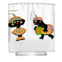 Carnival Shower Curtain by Allan  Hughes
