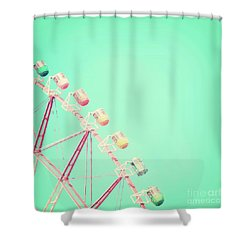 Shower Curtain featuring the photograph Carnival by Delphimages Photo Creations