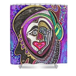 Carnival Face Shower Curtain