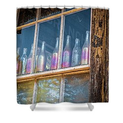 Carnival Glass Shower Curtain