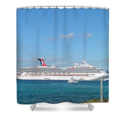 Carnival Glory Shower Curtain