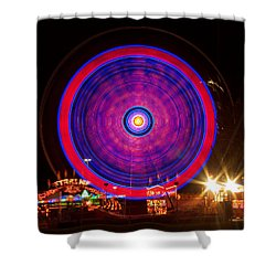 Carnival Hypnosis Shower Curtain by James BO  Insogna