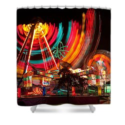 Carnival In Motion Shower Curtain by James BO  Insogna