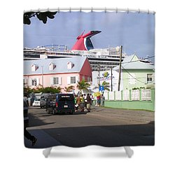 Carnival In Town Shower Curtain