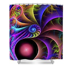 Carnival Shower Curtain by Kathy Kelly
