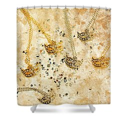 Carnival Masquerade Jewels Shower Curtain