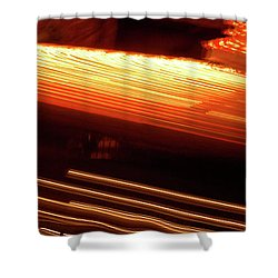 Carnival Ride Lights Shower Curtain