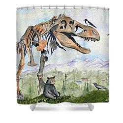 Carnivore Club Shower Curtain