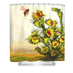 Carnivorous Shower Curtain