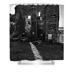 Shower Curtain featuring the photograph Photographs Of Cornwall Carnon Mine by Brian Roscorla