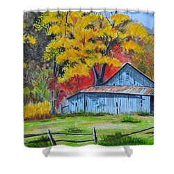 Carolina Barn Shower Curtain