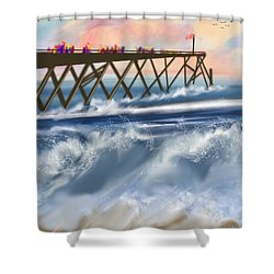 Carolina Beach Shower Curtain