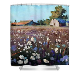 Carolina Cotton I Shower Curtain