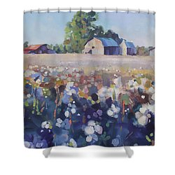 Carolina Cotton II Shower Curtain
