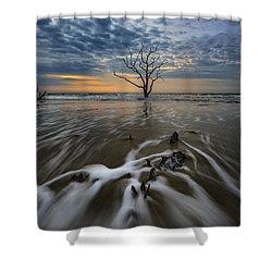 Carolina Lowcountry Shower Curtain by Rick Berk