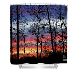 Carolina Sunset Shower Curtain