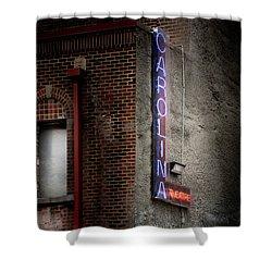 Carolina Theatre Neon Shower Curtain