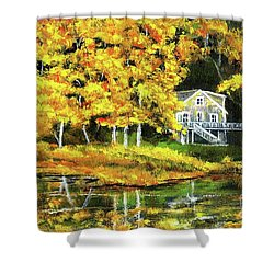 Carol's House Shower Curtain by Randy Sprout
