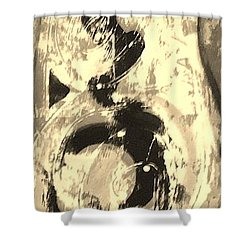 Carpenter Shower Curtain