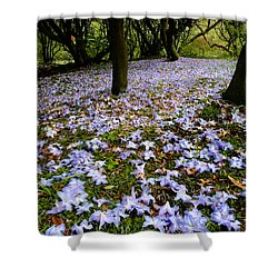 Carpet Of Petals Shower Curtain