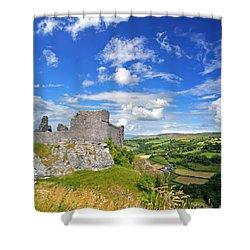 Carreg Cennen Castle 1 Shower Curtain