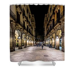 Carrer De Colom Shower Curtain
