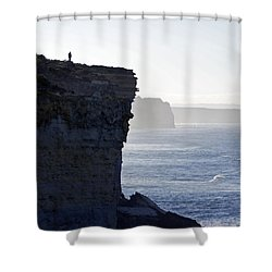 Carried Away By The Moment Shower Curtain by Holly Kempe