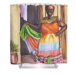 Cartegena Woman Shower Curtain