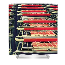 Carts Shower Curtain