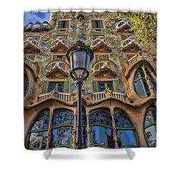 Casa Batllo Gaudi Shower Curtain