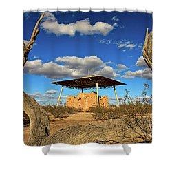 Casa Grande Ruins National Monument Shower Curtain