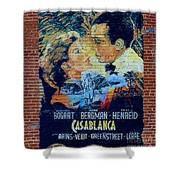 Shower Curtain featuring the photograph Casablanca Mural 2013 by Padre Art