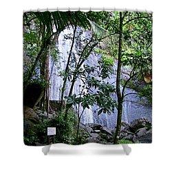 Cascada La Coca Shower Curtain