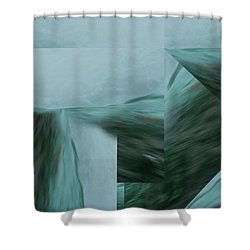 Cascade  Aquascape -  Shower Curtain