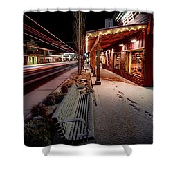 Shower Curtain featuring the photograph Cascade Avenue by Cat Connor