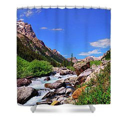 Cascade Canyon Shower Curtain