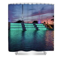 Cascade Falls Jackson Mi 1 Shower Curtain