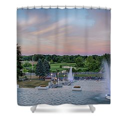 Cascade Falls Jackson Mi 2 Shower Curtain