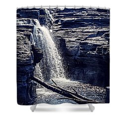 Shower Curtain featuring the photograph Cascade by Kendall McKernon