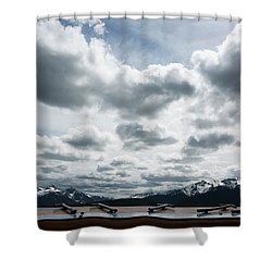 Cascade Outlook Manning Provincial Park Shower Curtain