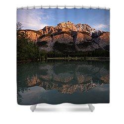 Cascade Ponds Reflections Shower Curtain