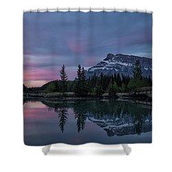 Cascade Ponds Sunrise Shower Curtain