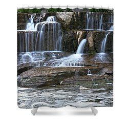 Cascade Shower Curtain
