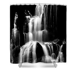 Cascade Shower Curtain by Wayne King