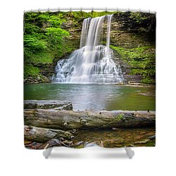 Cascades Falls Giles County Shower Curtain