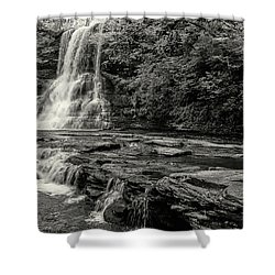 Cascades Waterfall Shower Curtain