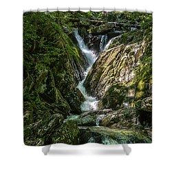 Cascading Beauty Shower Curtain